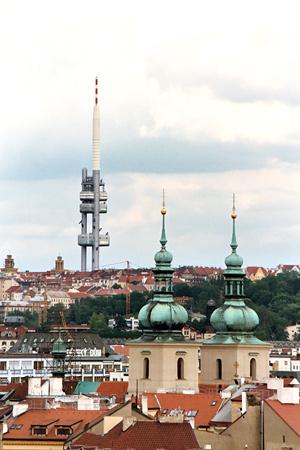 Prague's TV and radio tower | Apartments in Prague